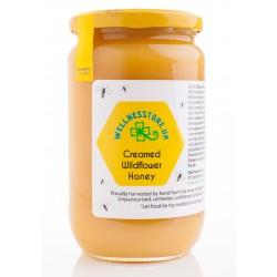 1kg Raw Creamed Wildflower Honey